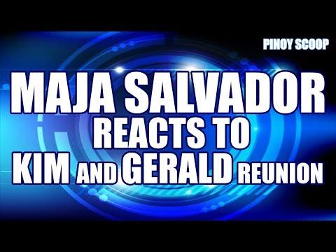 Maja Salvador Reacts To Gerald Anderson And Kim Chiu (kimerald) Reunion video