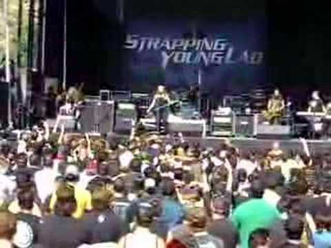 Strapping Young Lad City. Ozzfest 2006: Strapping Young