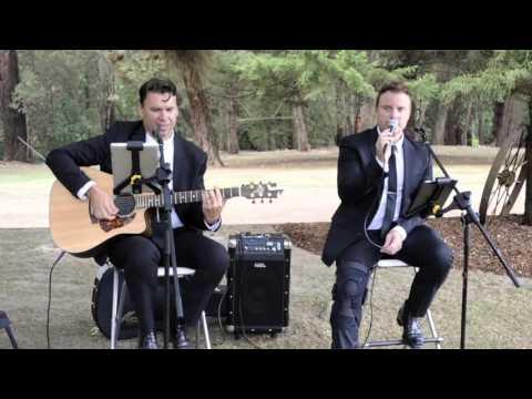 Acoustic Wedding Duo Something Borrowed Duo showreel Melbourne