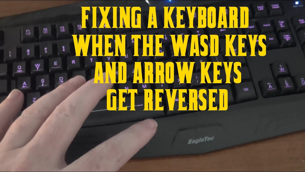How to Fix a Keyboard That Has the Wrong Characters