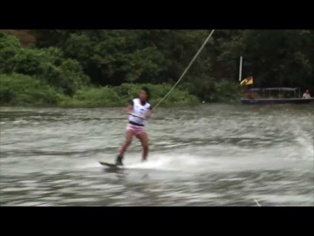 Pro Womens Wakeboard Highlights - Kuching 2011