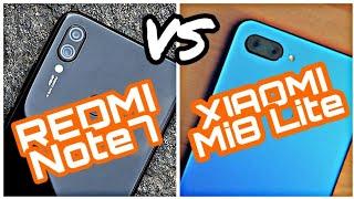 REDMI Note 7 VS XIAOMI Mi 8 Lite CAMERA COMPARISON!!! (Rear Camera, Front Camera, Photo, Video)
