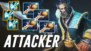 Attacker Kunkka | HARD game even for PRO.. | Dota 2 TOP MMR