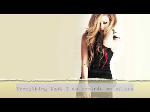 Avril Lavigne - When You're Gone (acoustic Instrumental W  Lyrics) video