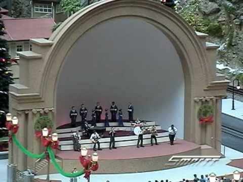 Custom Animated BandShell in O Scale Video