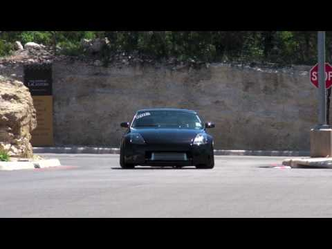 Nissan 350Z  single Turbo! Slammed (HD)