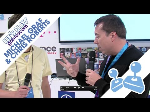 Michael Graf & Chris Roberts zeigen Star Citizen - GamescomTV 2014