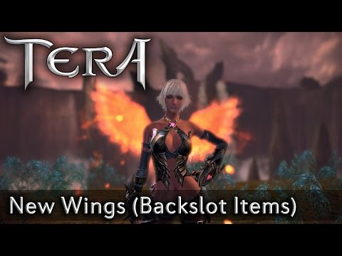 TERA KR | New Wings (Backslot Items) | Style Shop Update 10/01