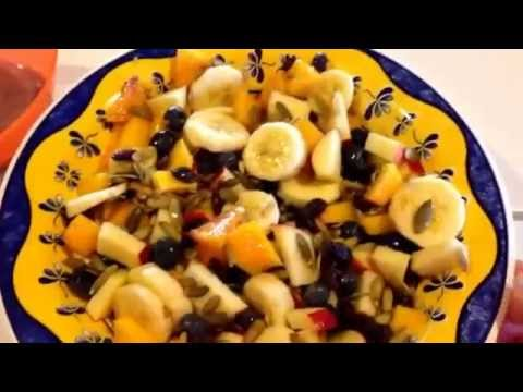 Going bananas! Favorite simple fruit salad