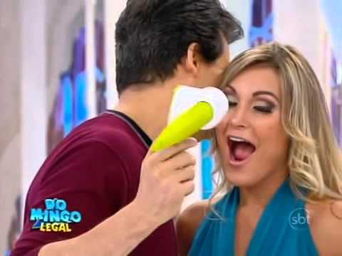 Domingo Legal 12/01 - Boia ou Afunda com Andressa Urach- Parte 1