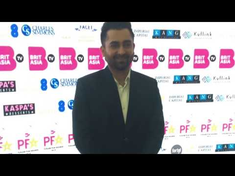 Catching up with Sharry Mann at the Punjabi Film Awards!