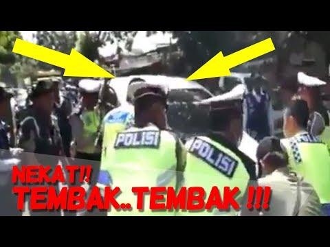VIRAL! Pengemudi Xenia Nekat TABRAK POLISI DAN TNI Saat Operasi Zebra 2017