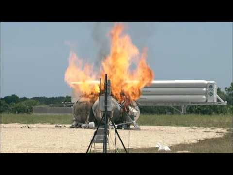 NASA Morpheus Lander Crash and Explosions