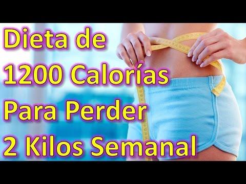 Dieta de 1200 calorias para perder 2 kilos por semana - Perder 10 kilos en 2 meses ...