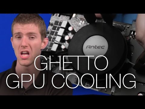 DIY GPU Cooler ft. Antec Kuhler liquid CPU cooling