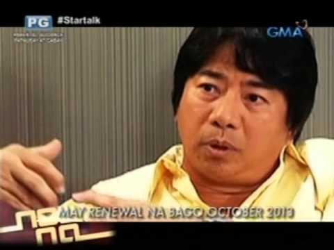 Startalk: Exclusive Interview: Willie Revillame video
