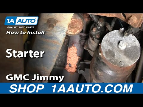 How To Install Replace Starter Chevy GMC 305 350 Pickup Truck SUV 1AAuto.com