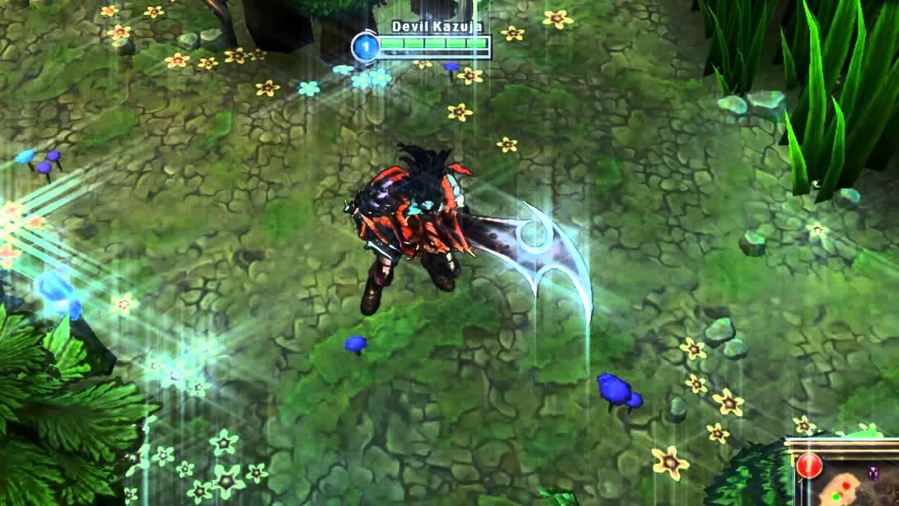 League Of Legends - Dämonenklingen Tryndamere (demonblade