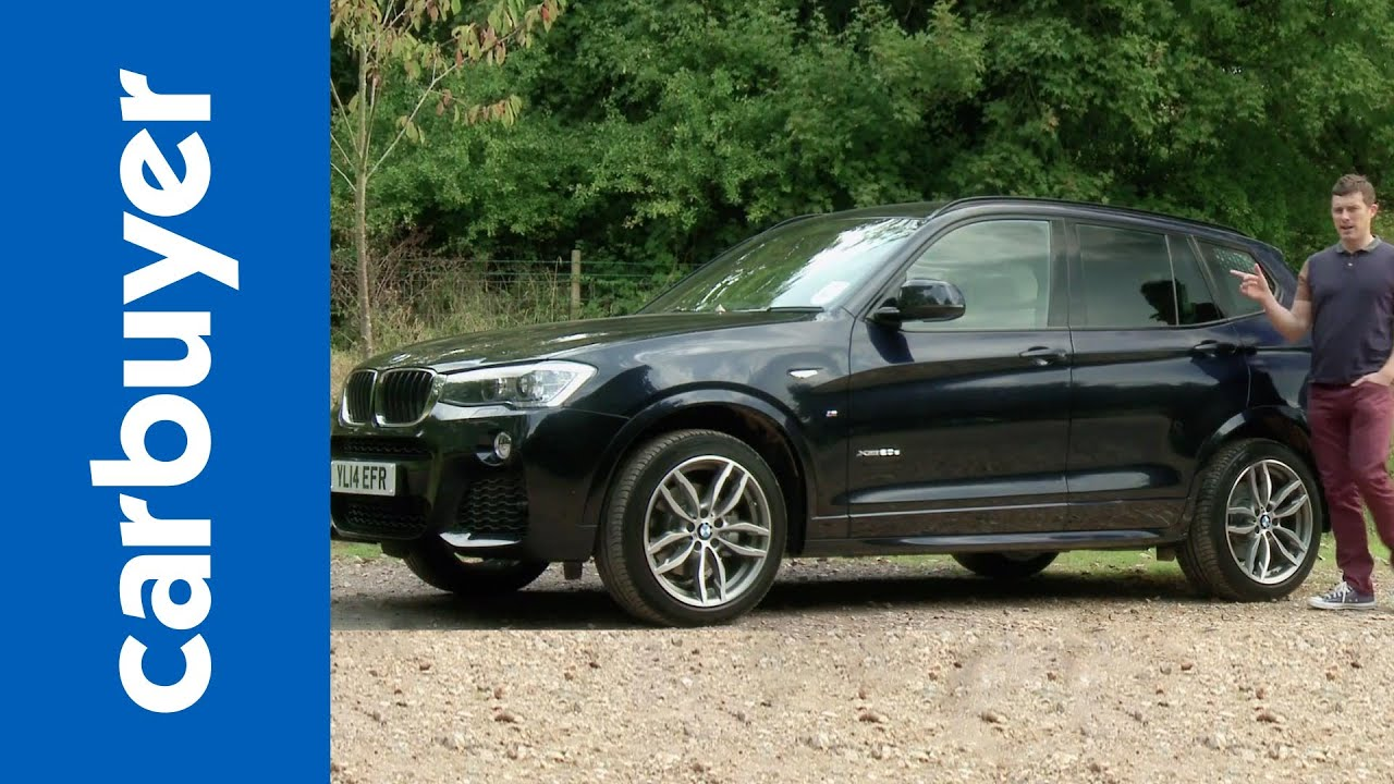 bmw x3 suv 2014 review carbuyer youtube. Black Bedroom Furniture Sets. Home Design Ideas