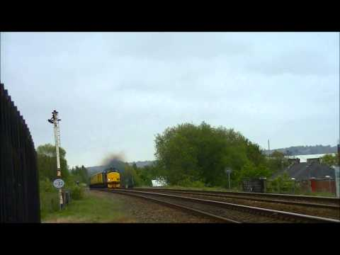 Direct Rail Serivces 37259 & 37607 Thrash & Clag - Darton 21/05/13