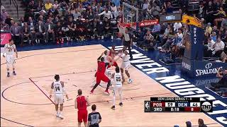 Enes Kanter All Actions 05/01/2019 Portland Trail Blazers vs Denver Nuggets Game 2 Highlights