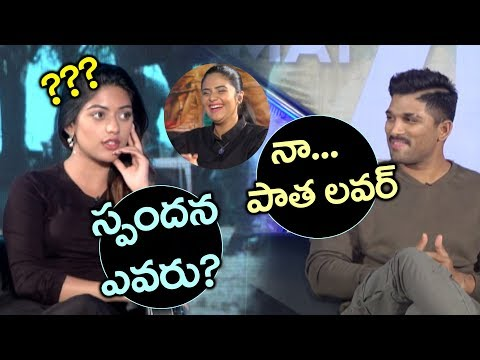 Srimukhi Funny Comments On Anu Emmanuel | Naa Peru Surya Movie Interview | YOYO Cine Talkies