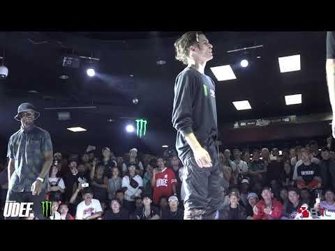 Monster RAD Vs Yan The Shrimp/Robin - Semis- Freestyle Session 2018 - Pro Breaking Tour - BNC