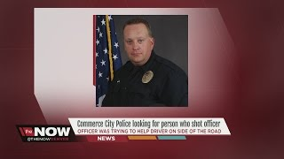 Commerce City Police search for cop shooter