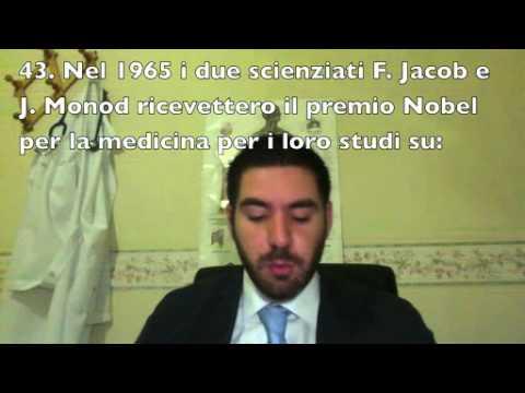 Test medicina 2012 - risoluzione quiz biologia