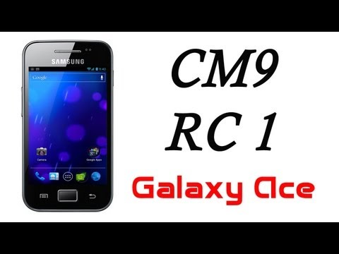 Ice Cream Sandwich Android 4.0.4 para Galaxy Ace [CM9 RC 1] HD