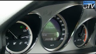 Autobahn Test - MB GLK 220 CDi (1080p FULL HD)