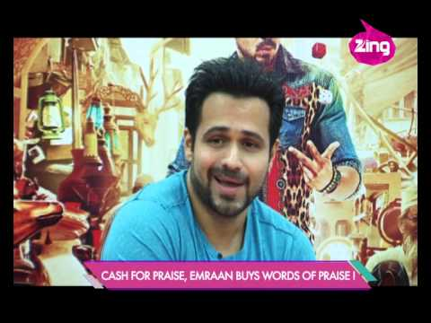 Emraan Hashmi - Humaima Malik in a fun mood