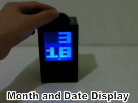 LED Projector Clock