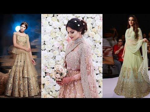 new style lehenga with attached dupatta/beautiful 2 min lehenga design ideas