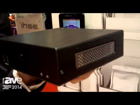 ISE 2014: AOPEN Exhibits DE7200 Digital Media Player