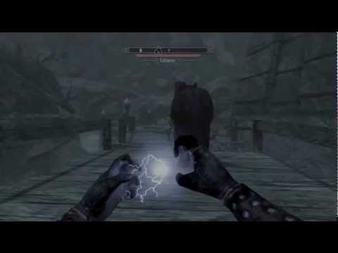 Skyrim - How to get master destruction spells - Laggy PS3 Gameplay - My quest for level 81.