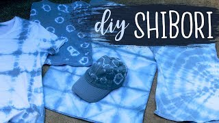 DIY Shibori Tie Dye Technique Tutorial (For Beginners) | Tie Dye Ideas | Dye-IY 🎨