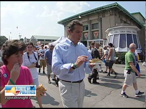Andrew Cuomo State Fair (9/1/2010) Video