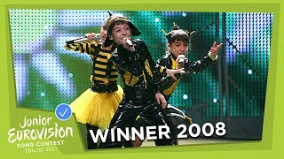 JUNIOR EUROVISION 2008: BZIKEBI - BZZZ - GEORGIA 🇬🇪  - WINNER
