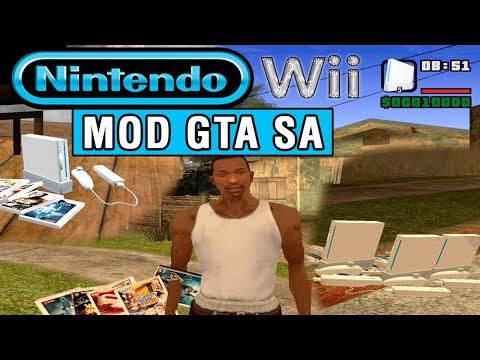 Tutorial para instalar un nintendo wii en GTA San Andreas (PC) por vigilantes15