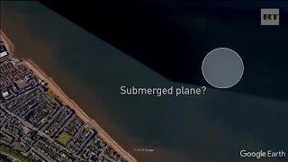 'It looks like it is underwater': Has Google Maps exposed a sunken plane off Scottish coast?