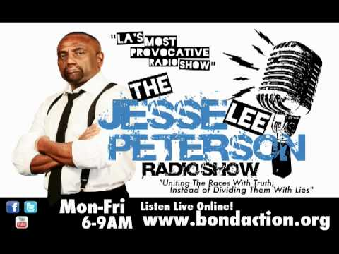 Jesse Lee Peterson Radio Show w/ Dr. Tony Evans, Chaplain for the Dallas Mavericks and Cowboys