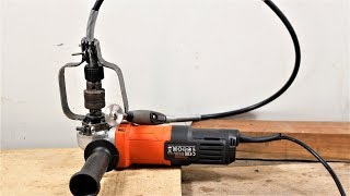 Angle Grinder Hacks, Flexible Shaft Attachment, How To.  | DIY |