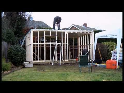 Garden room in two minutes - YouTube