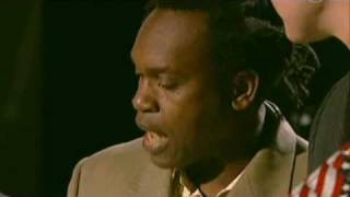 Dr Alban sings Blowin in the wind