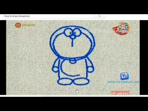 How To Make Doraemon Easily [STEP BY STEP]