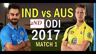 india va Australia 2ND ODI 2017 highlights match - Virat Kohli 92 Runs of 107 Balls