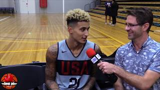 Kyle Kuzma On Everyone Hating On His Fashion. USA Basketball 2019 HoopJab NBA