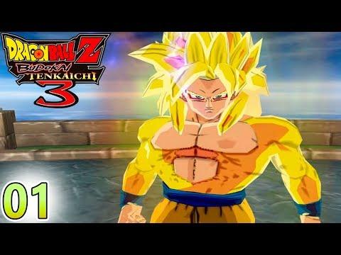 Dragon Ball Z Budokai Tenkaichi 3 MOD - DBZ BT3 - A Épica Jornada Começa - Radiz Mítão