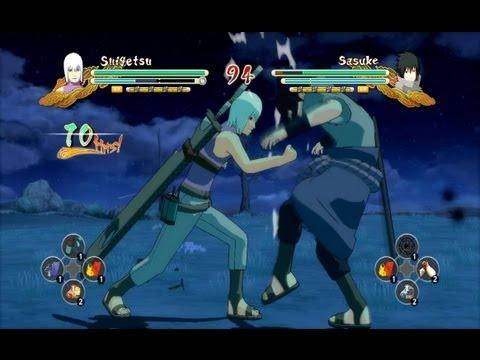 (XBOX 360) Suigetsu vs EMS Sasuke Naruto Ultimate Ninja Storm 3
